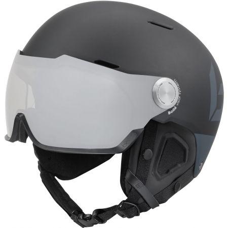 Lyžařská helma se štítem - Bolle MIGHT VISOR PHOTOCHROMIC PREMIUM