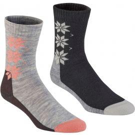 KARI TRAA KT WOOL SOCK 2PK - Vlněné ponožky