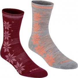KARI TRAA VINST WOOL SOCK 2PK - Dámské ponožky