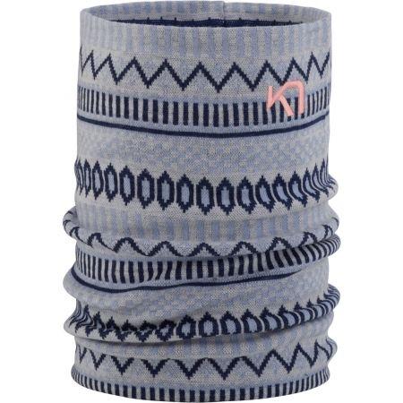 Multifunkční pletený šátek - KARI TRAA AKLE TUBE