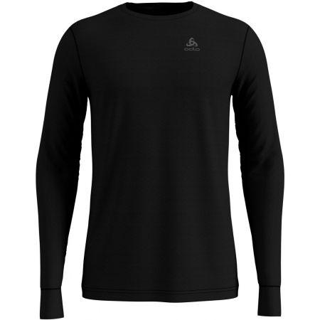 Pánské tričko s dlouhým rukávem - Odlo SUW TOP CREW NECK L/S NATURAL 100% MERINO