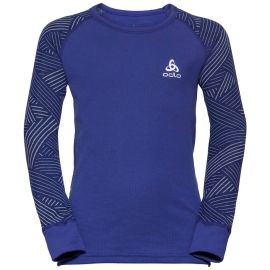 Odlo BL TOP CREW NECK L/S ACTIVE WARM TREND K