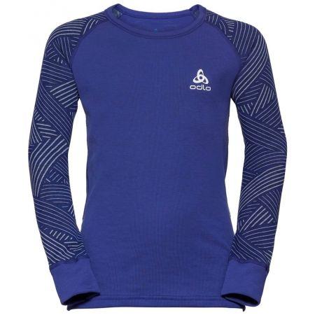Odlo SUW KIDS TOP L/S CREW NECK ACTIVE WARM TREND - Dětské tričko