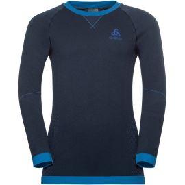 Odlo BL TOP CREW NECK L/S PERFORMANCE WARM KI - Dětské tričko