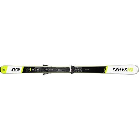 Unisex sjezdové lyže - Salomon 24 HOURS MAX + Z12 GW - 4