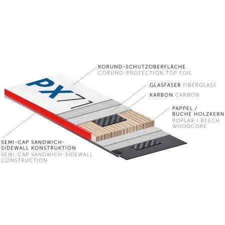 Sjezdové lyže - Kästle PX71 PREM + K12 TRI GW - 4