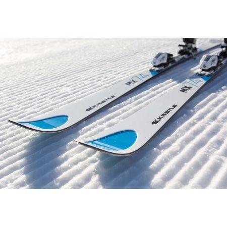 Sjezdové lyže - Kästle MX74 TRIFLEX BASE L162 + K12 TRI GW - 7