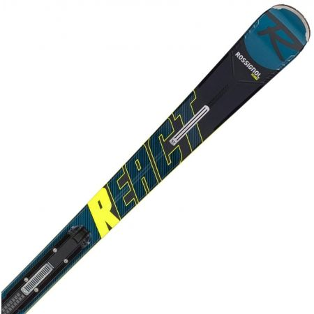 Pánské sjezdové lyže - Rossignol REACT R8 HP + NX 12 KONECT GW - 1