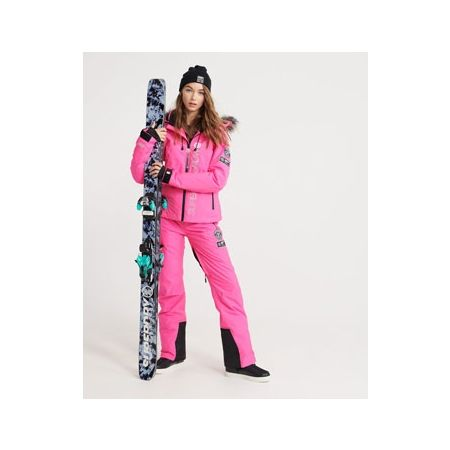 Dámské lyžařské kalhoty - Superdry SD SKI RUN PANT - 5