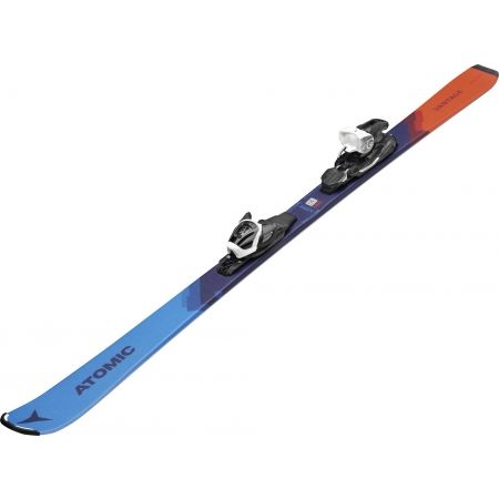 Juniorské sjezdové lyže - Atomic VANTAGE JR 130-150 + C 5 GW