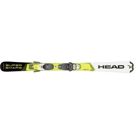 Dětské sjezdové lyže - Head SUPERSHAPE TEAM SLR PRO + SLR 7.5 - 4