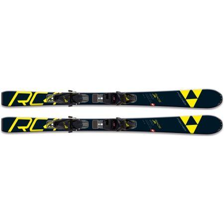 Juniorské sjezdové lyže - Fischer RC4 RACE JR. + FJ4 SLR - 3