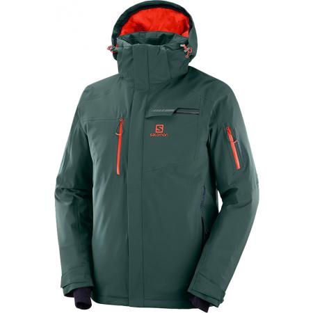 Salomon BRILLIANT JKT M - Pánská lyžařská bunda