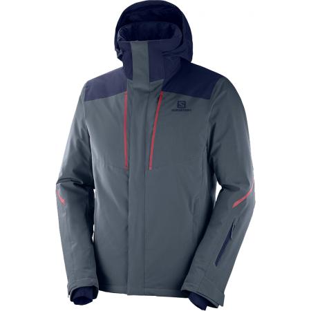 Salomon STORMSEASON JKT M - Pánská lyžařská bunda