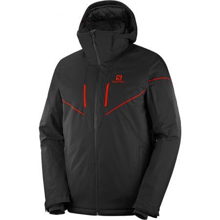 Salomon STORMRACE JKT M - Pánská lyžařská bunda