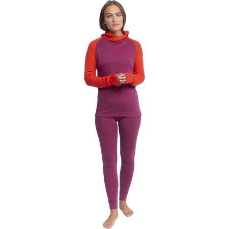 Dámské vlněné triko s kapucí - Devold EXPEDITION WOMAN HOODIE - 2