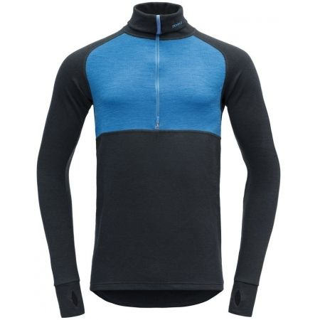 Devold EXPEDITION MAN ZIP NECK - Pánský vlněný rolák
