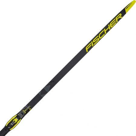 Běžecké lyže na klasiku se stoupacími pásy - Fischer TWIN SKIN RACE STIFF + RACE CLASSIC IFP - 1