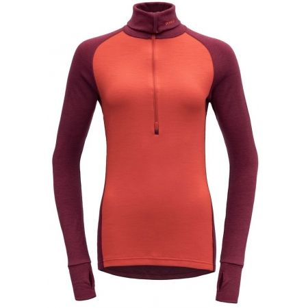 Devold EXPEDITION WOMAN ZIP NECK - Dámský rolák