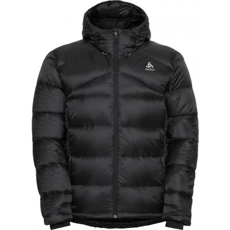 Odlo MEN'S INSULATED JACKET HOODY COCOON N-THERMIC X-WARM - Pánská péřová bunda
