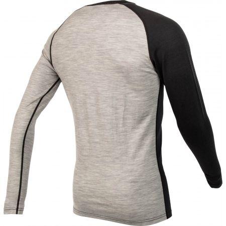 Pánské triko s dlouhým rukávem - Bula ATTITUDE MERINO WOOL CREW - 3