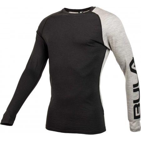 Pánské triko s dlouhým rukávem - Bula ATTITUDE MERINO WOOL CREW - 2