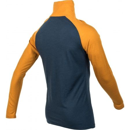 Pánské triko s dlouhým rukávem - Bula RETRO WOOL HZ - 3