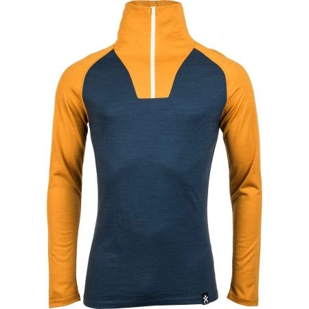 Pánské triko s dlouhým rukávem - Bula RETRO WOOL HZ - 1