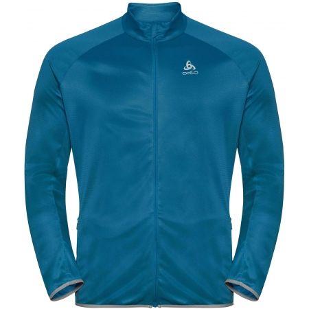 Tričko s dlouhým rukávem a stojáčkem - Odlo SUW MEN'S TOP L/S 1/2 ZIP TURTLE NECK ACTIVE WARM - 1