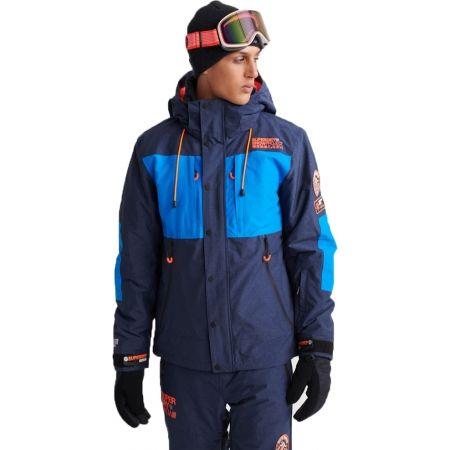 Pánská lyžařská bunda - Superdry SD MOUNTAIN JACKET - 1