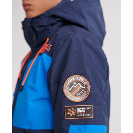 Pánská lyžařská bunda - Superdry SD MOUNTAIN JACKET - 6
