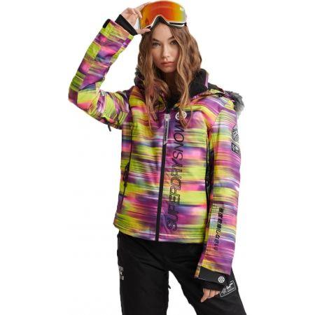 Dámská lyžařská bunda - Superdry SD SKI RUN JACKET - 1