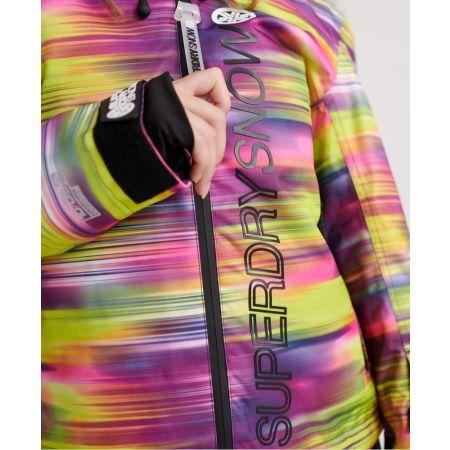 Dámská lyžařská bunda - Superdry SD SKI RUN JACKET - 5