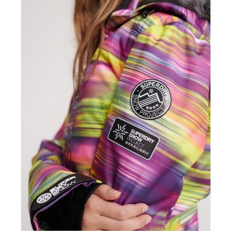 Dámská lyžařská bunda - Superdry SD SKI RUN JACKET - 6