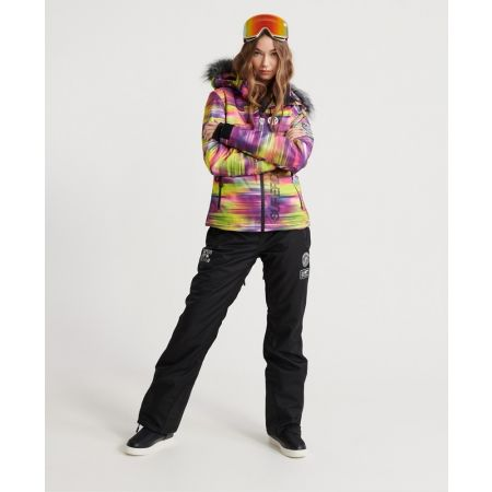 Dámská lyžařská bunda - Superdry SD SKI RUN JACKET - 3
