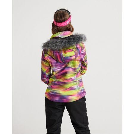 Dámská lyžařská bunda - Superdry SD SKI RUN JACKET - 2