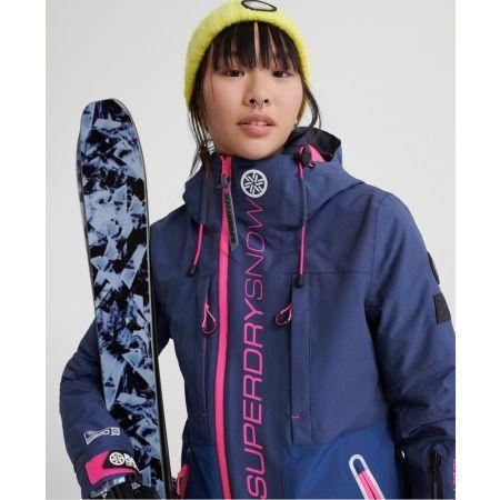 Dámská lyžařská bunda - Superdry SLALOM SLICE SKI JACKET - 4
