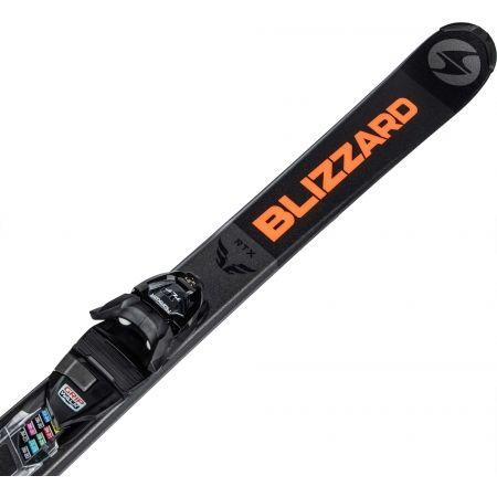 Pánské sjezdové lyže - Blizzard RTX DARK + MARKER TLT 10 - 4