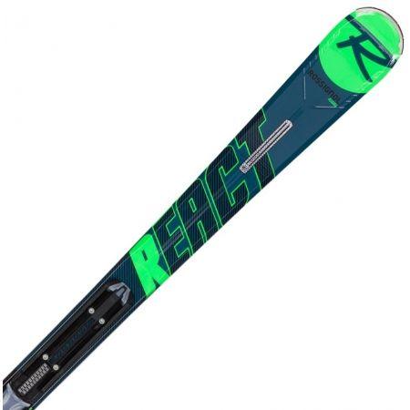 Pánské sjezdové lyže - Rossignol REACT R4 SPORT CA+XPRESS 10 - 3