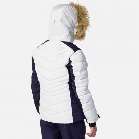 Dívčí lyžařská bunda - Rossignol GIRL BB POLYDOWN PEARLY JKT - 4
