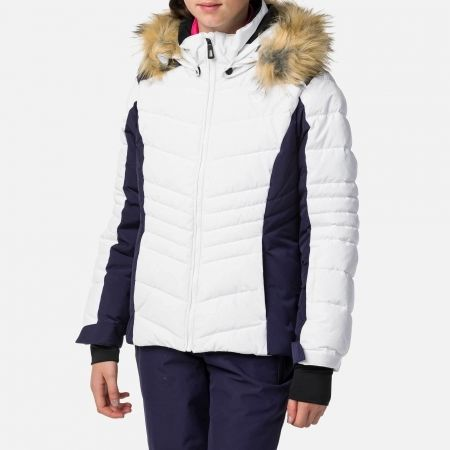 Dívčí lyžařská bunda - Rossignol GIRL BB POLYDOWN PEARLY JKT - 2
