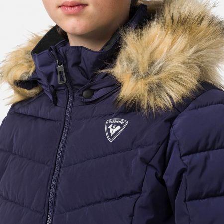 Dívčí lyžařská bunda - Rossignol GIRL BB POLYDOWN PEARLY JKT - 5