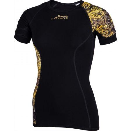 Dámské funkční triko - Suspect Animal GOLD ELEGANT - 2