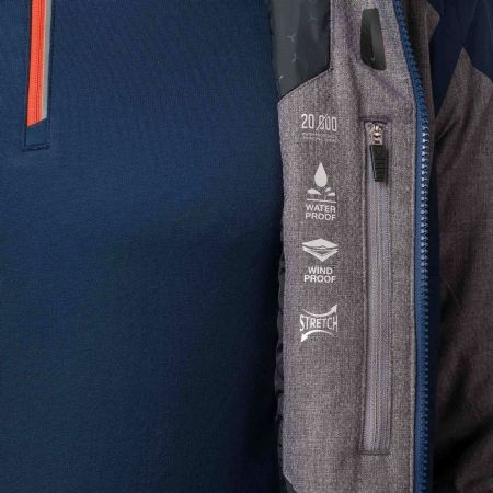 Pánská lyžařská bunda - Rossignol HEATHER - 7