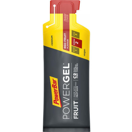 Powerbar GEL RED FRUIT PUNCH - Energetický gel