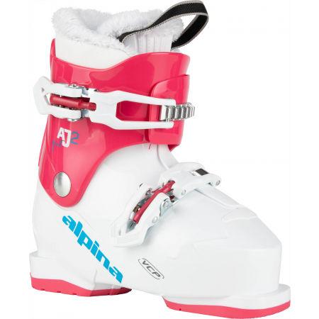 Dívčí obuv na sjezdové lyžování - Alpina AJ2 GIRL - 2