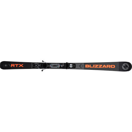 Pánské sjezdové lyže - Blizzard RTX DARK + MARKER TLT 10 - 2