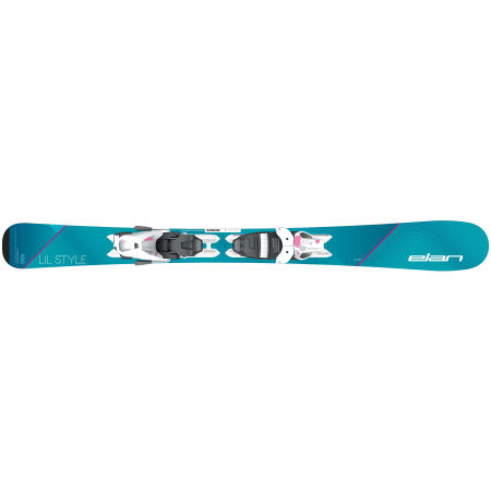 Dívčí sjezdové lyže - Elan LIL STYLE QS + EL 7.5 - 4