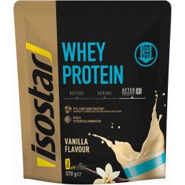 Isostar WHEY PROTEIN VANILKA 570G - Prášek pro přípravu proteinového nápoje s obsahem BCAA
